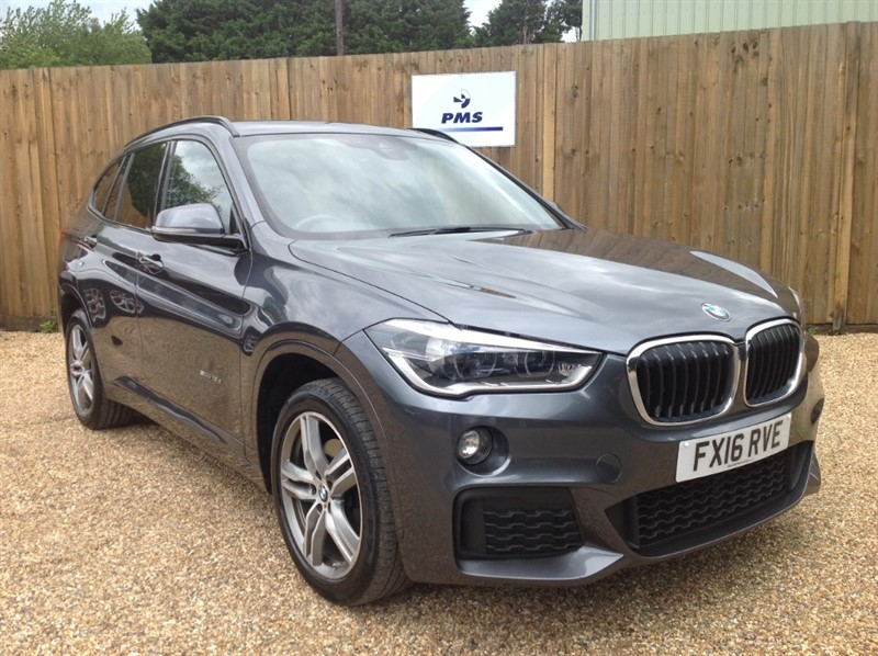used BMW X1 SDRIVE18D M SPORT SAT/NAV-LEATHER-HIGH SPEC in welwyn-hertfordshire