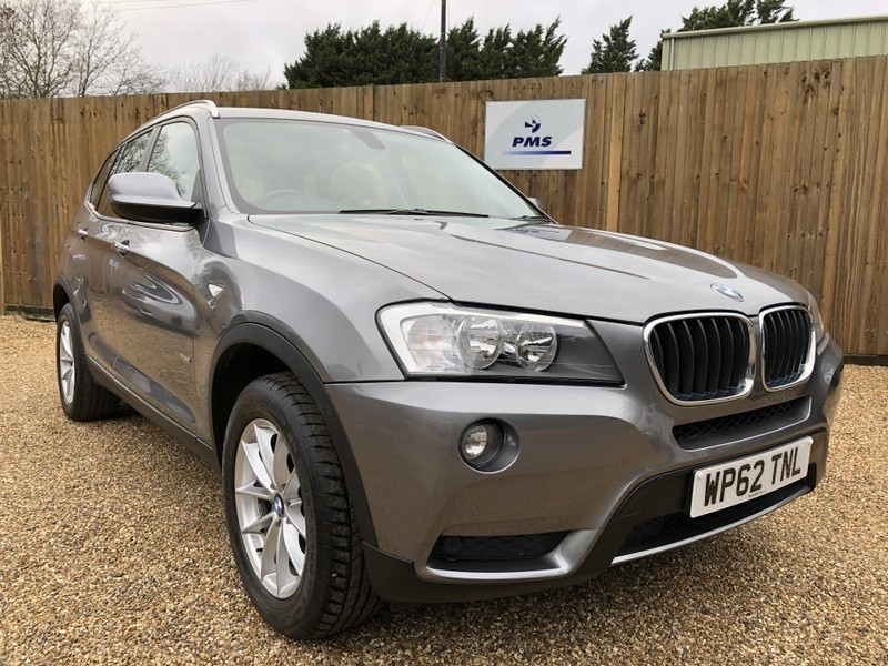 used BMW X3 XDRIVE20D SE SAT/NAV-PAN ROOF-LEATHER-AMAZING SPEC in welwyn-hertfordshire