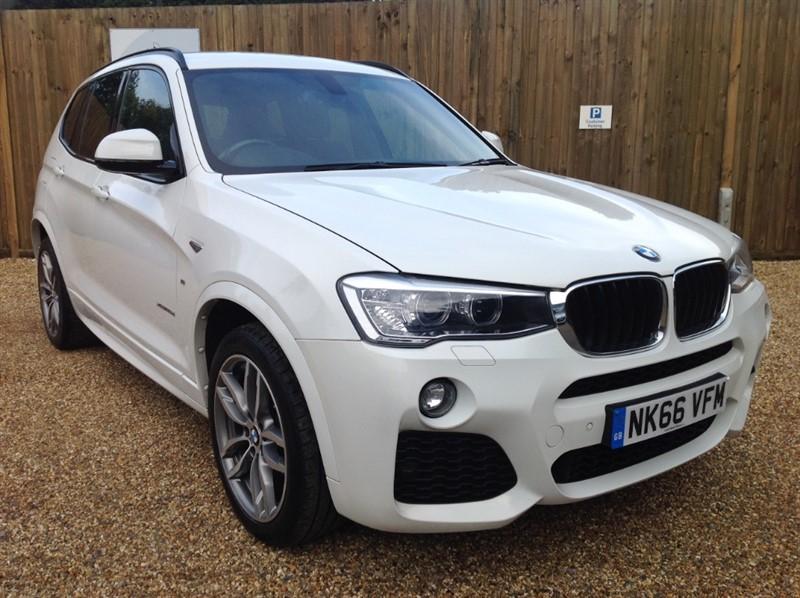 used BMW X3 XDRIVE20D M SPORT PRO SAT/NAV-BMW SERVICED in welwyn-hertfordshire