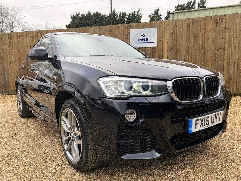 used BMW X4  XDRIVE20D M SPORT SAT/NAV-LEATHER-GREAT SPEC in welwyn-hertfordshire