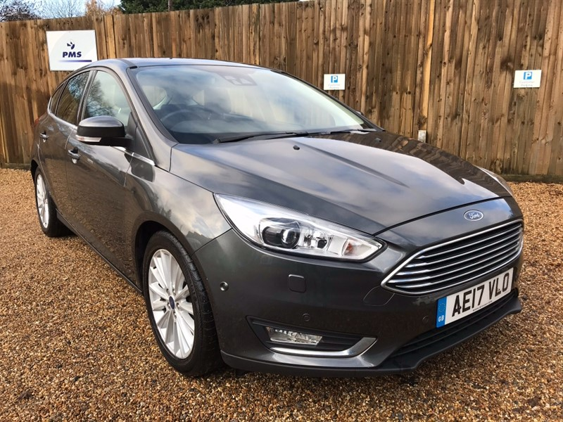 used Ford Focus TITANIUM X TDCI BLIND SPOT DRIVER ASS PACK PREMIER SOUND SYSTEM in welwyn-hertfordshire