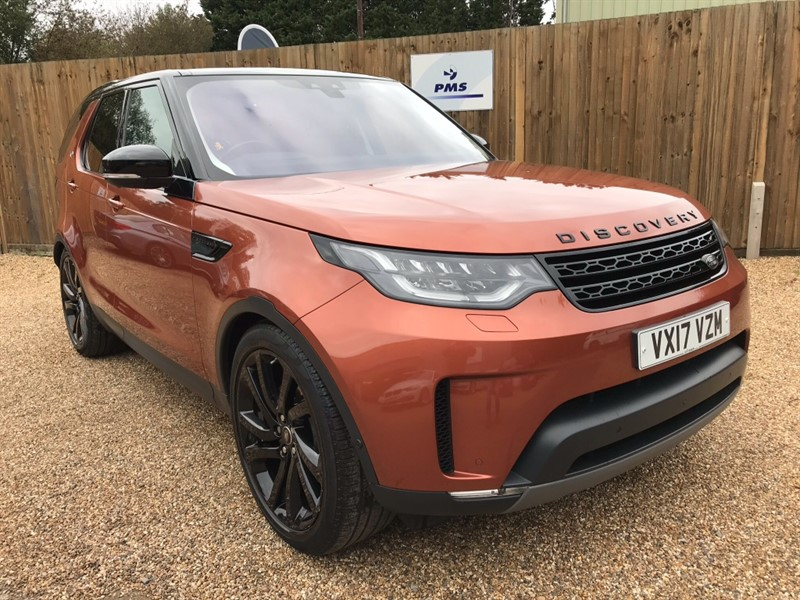 used Land Rover Discovery TD6 FIRST EDITION ONE OWNER NAMID ORANGE MASIVE SPEC JUST LAND ROVER SERVICED in welwyn-hertfordshire