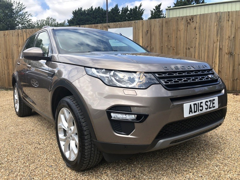 used Land Rover Discovery Sport SD4 SE TECH 7 SEATS ONE LADY OWNER in welwyn-hertfordshire