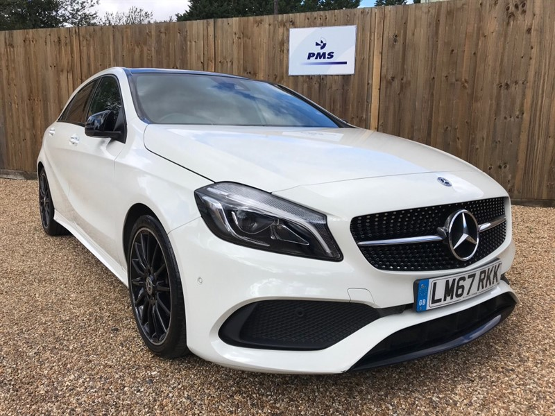 used Mercedes 200 A  AMG LINE PREMIUM PLUS PANORAMIC SUNROOF ONE OWNER FULL SERVICE HISTORY in welwyn-hertfordshire