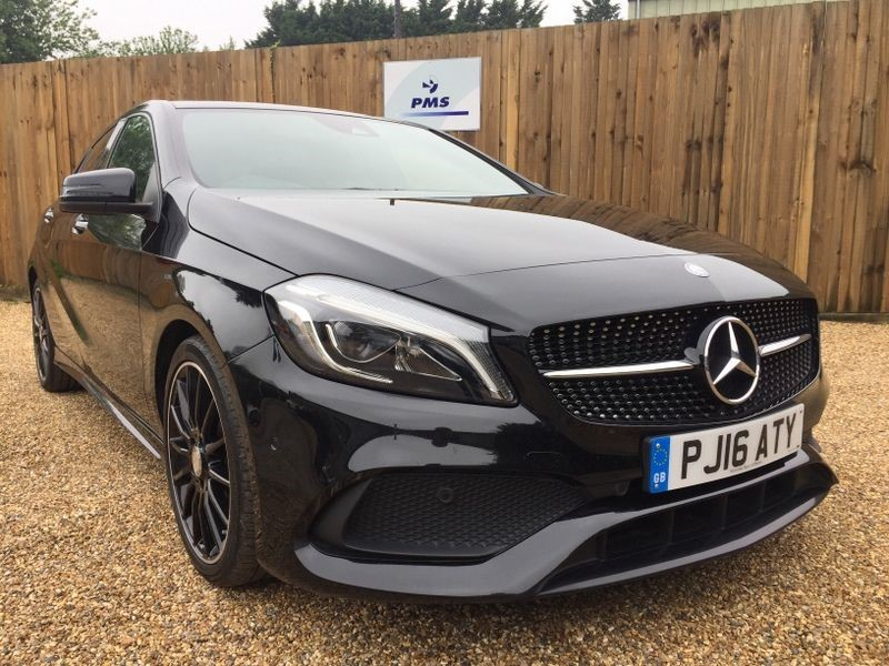 used Mercedes A200 A-CLASS 200 D AMG LINE PREMIUM-PAN ROOF-NIGHT PACK in welwyn-hertfordshire