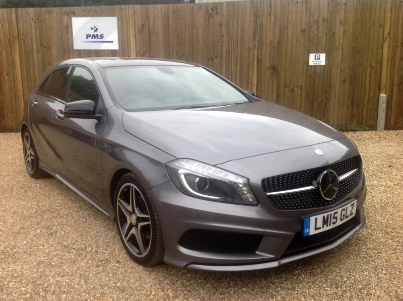used Mercedes A200 CDI AMG NIGHT EDITION SAT/NAV-PAN ROOF in welwyn-hertfordshire