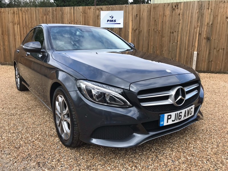 used Mercedes C300 H SPORT PREMIUM PLUS ONE OWNER ELECTRIC PANORAMIC SUNROOF BIG SPECIFICATION in welwyn-hertfordshire