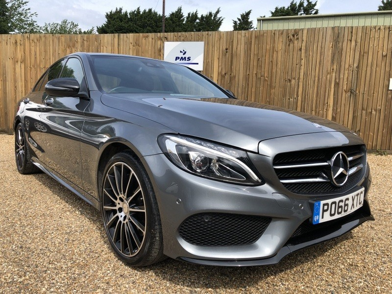 used Mercedes C300 H AMG LINE PREMIUM PLUS-NIGHT PACK-19
