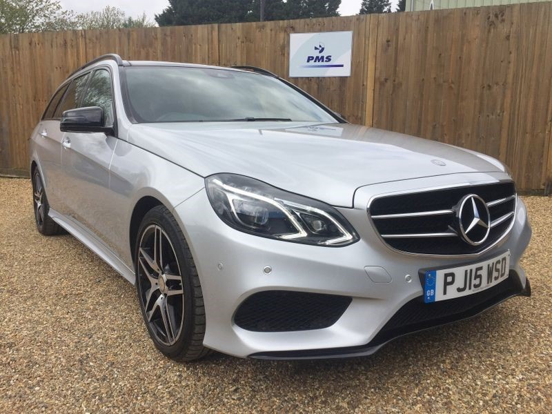 used Mercedes E350 BLUETEC AMG NIGHT ED PREMIUM PLUS-PAN ROOF in welwyn-hertfordshire
