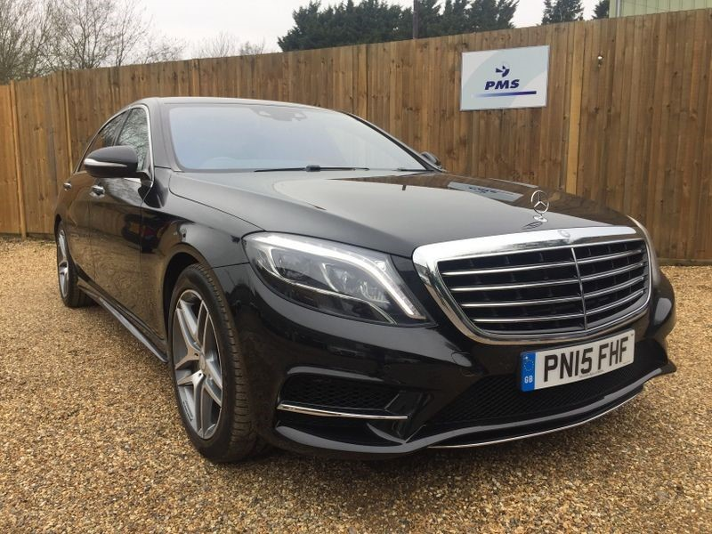used Mercedes S400 HYBRID L AMG LINE INDIVIDUAL SEAT PACK £4999.00 OPTION-TOP SPEC in welwyn-hertfordshire