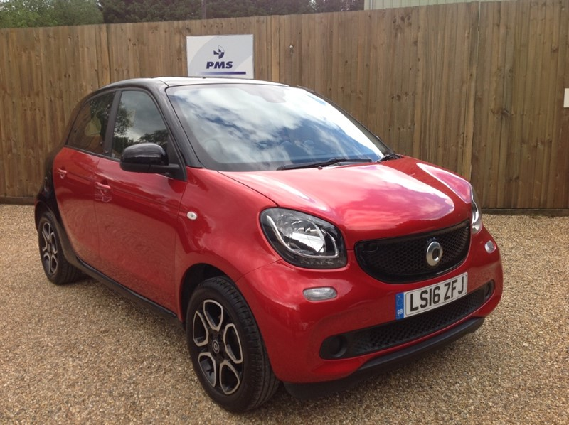 used Smart Car Forfour PRIME PANORAMIC ROOF-LEATHER in welwyn-hertfordshire