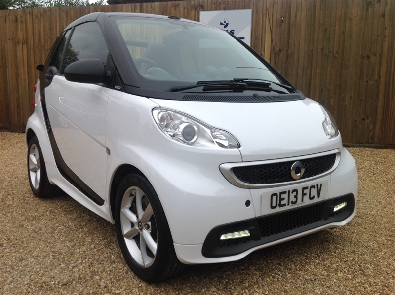 used Smart Car Fortwo Cabrio EDITION 21 MHD* ONLY 25K MILES *SERVICED AND MOT JAN 19 in welwyn-hertfordshire