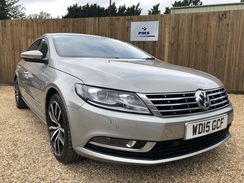 used VW CC GT TDI BLUEMOTION TECHNOLOGY SAT NAV HEATED LEATHER SEATS in welwyn-hertfordshire