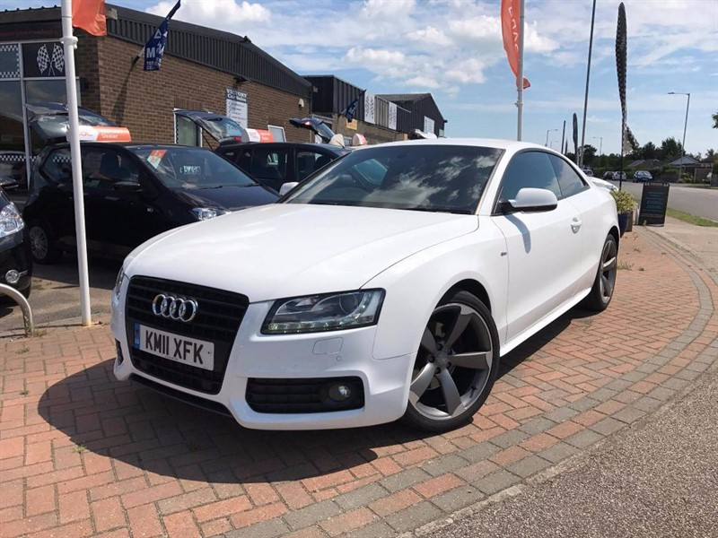 used Audi A5 TDI S LINE BLACK EDITION in leiston-suffolk