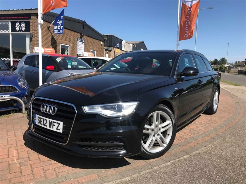 used Audi A6 Avant TDI S LINE in leiston-suffolk