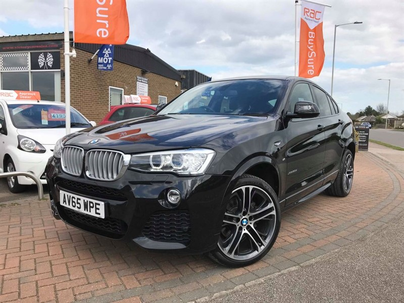 used BMW X4  XDRIVE30D M SPORT **MANUFACTURERS WARRANTY** in leiston-suffolk
