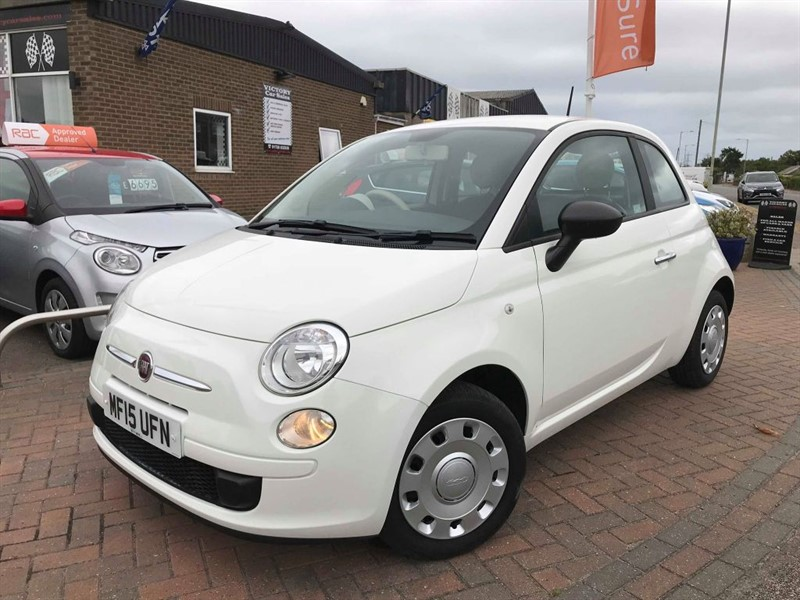 used Fiat 500 POP **FULL FIAT SERVICE HISTORY** in leiston-suffolk