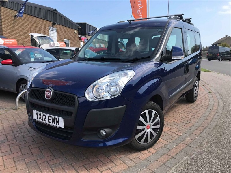 used Fiat Doblo MYLIFE **WHEELCHAIR ACCESSIBLE VEHICLE** in leiston-suffolk