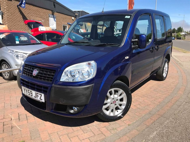 used Fiat Doblo 8V DYNAMIC H/R **WHEELCHAIR ACCESSIBLE VEHICLE** in leiston-suffolk