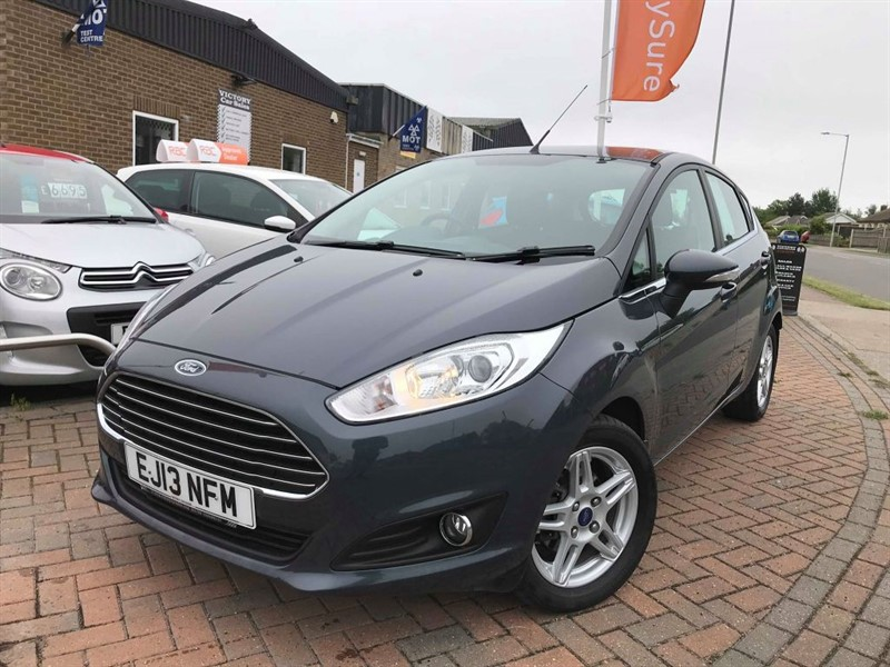 used Ford Fiesta ZETEC **ZERO ROAD TAX + FULL FORD HISTORY** in leiston-suffolk