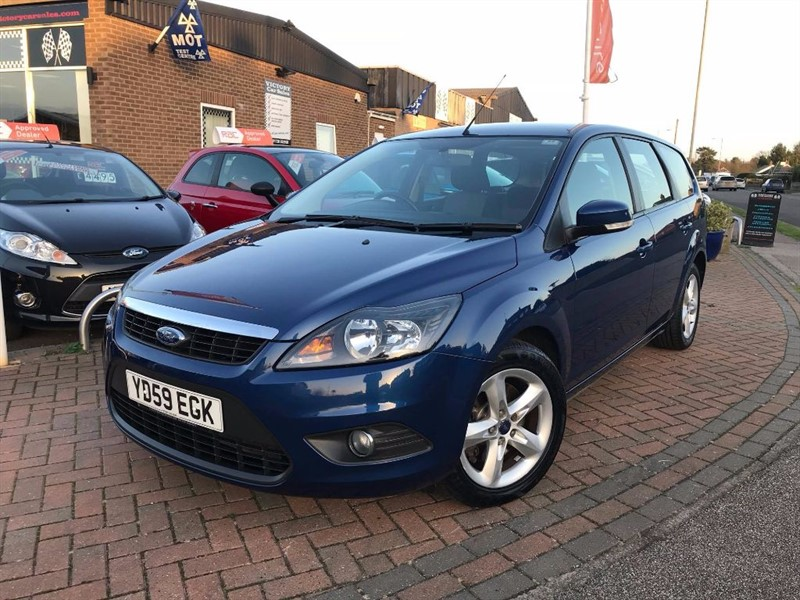 used Ford Focus ZETEC TDCI in leiston-suffolk