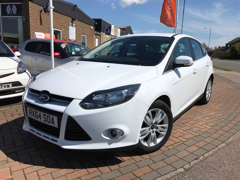 used Ford Focus TITANIUM NAVIGATOR ECONETIC TDCI START/STOP **FREE ROAD TAX** in leiston-suffolk