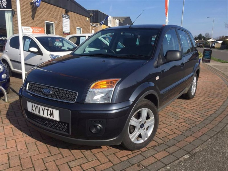 used Ford Fusion ZETEC TDCI in leiston-suffolk