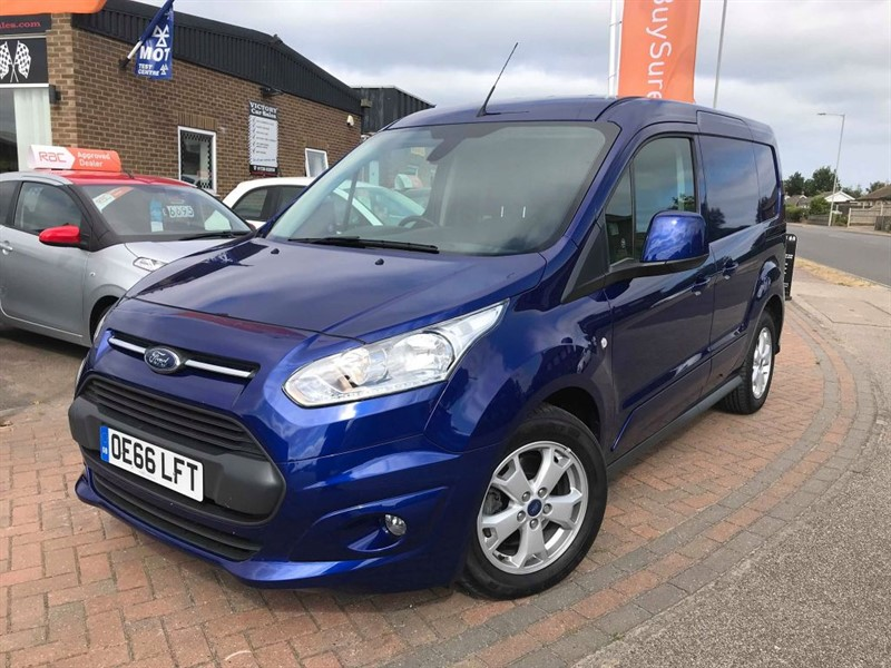 used Ford Transit Connect 200 LIMITED P/V **SAT NAV + REAR CAMERA** in leiston-suffolk
