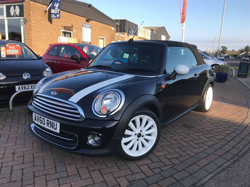 used MINI Convertible COOPER **1 FAMILY OWNED FROM NEW** in leiston-suffolk