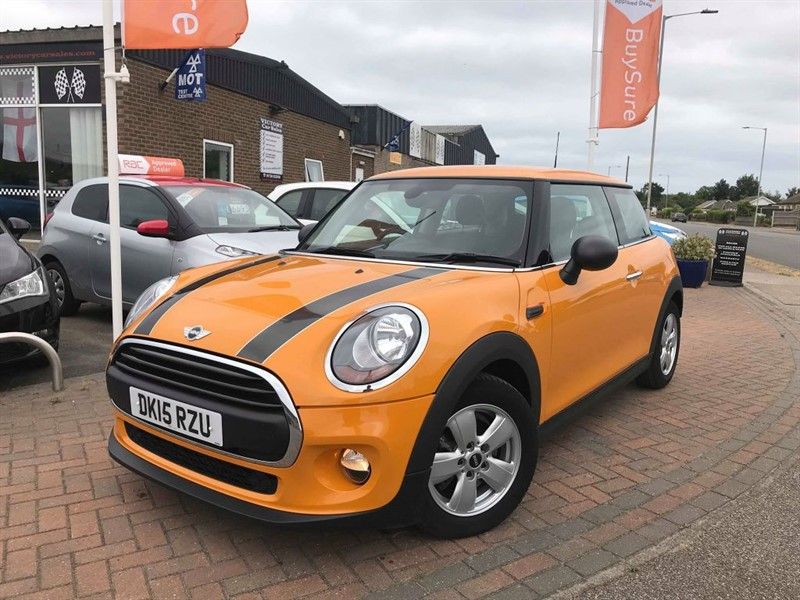 used MINI Hatch ONE **MAINTENANCE PACK UNTIL 2020**  in leiston-suffolk