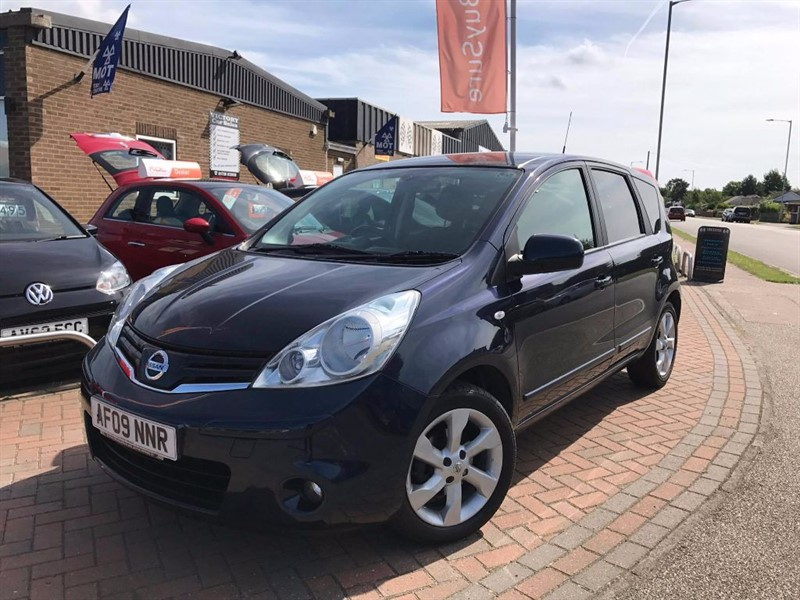 used Nissan Note TEKNA  AUTOMATIC in leiston-suffolk