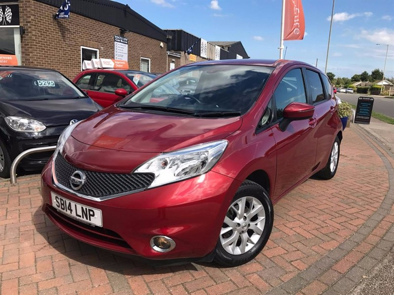 used Nissan Note ACENTA PREMIUM **£20 ROAD TAX** in leiston-suffolk