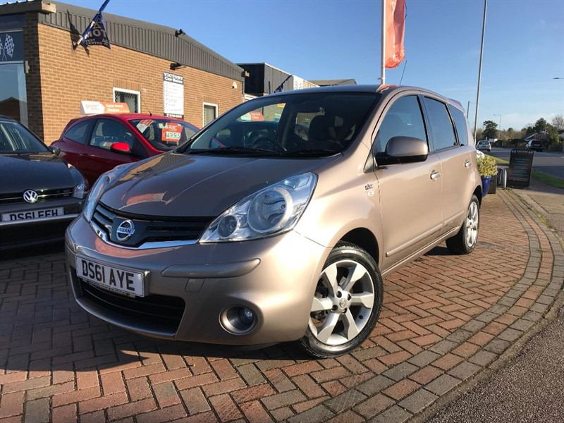 used Nissan Note N-TEC in leiston-suffolk