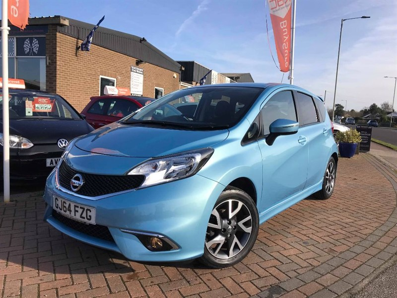 used Nissan Note ACENTA PREMIUM **STYLE PACK** in leiston-suffolk