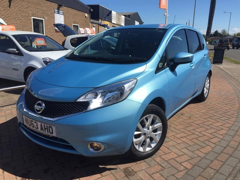 used Nissan Note ACENTA **£20 ROAD TAX** in leiston-suffolk