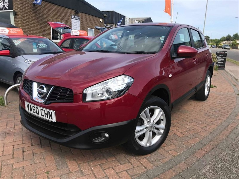 used Nissan Qashqai ACENTA in leiston-suffolk