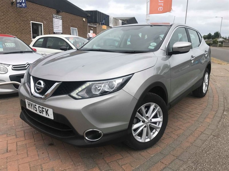 used Nissan Qashqai ACENTA DIG-T in leiston-suffolk