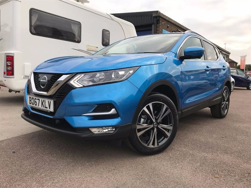 used Nissan Qashqai N-CONNECTA DCI **CHOICE OF SPECS AND COLOURS AVAILABLE** in leiston-suffolk