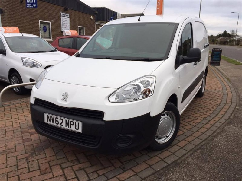 used Peugeot Partner HDI S L1 850 in leiston-suffolk