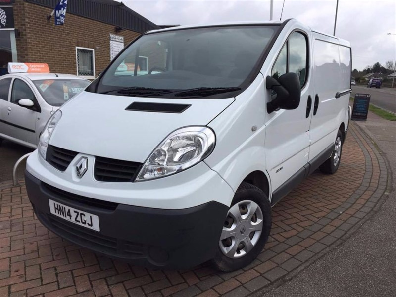 used Renault Trafic SL29 DCI S/R P/V **SAT NAV+CRUISE CONTROL** in leiston-suffolk