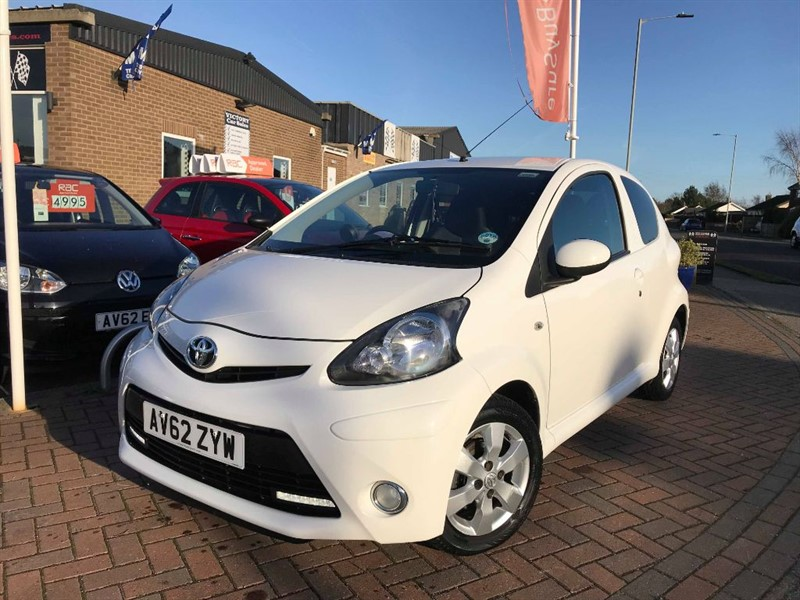 used Toyota Aygo VVT-I FIRE **FREE ROAD TAX** in leiston-suffolk