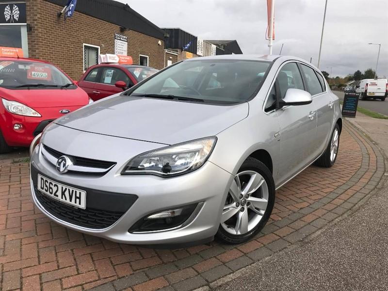 used Vauxhall Astra SRI in leiston-suffolk