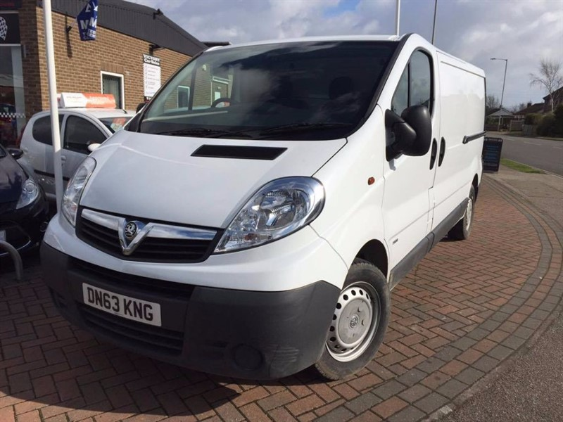 used Vauxhall Vivaro 2900 CDTI in leiston-suffolk