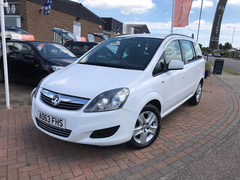 used Vauxhall Zafira EXCLUSIV in leiston-suffolk