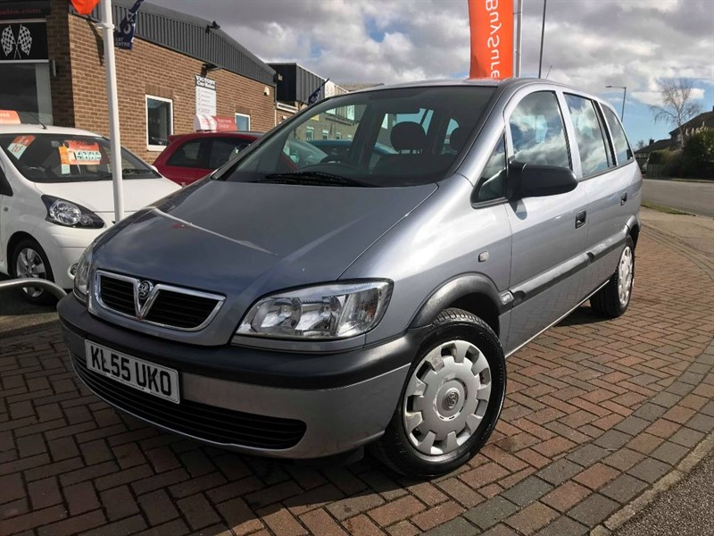 used Vauxhall Zafira LIFE 16V **LOW MILEAGE**  in leiston-suffolk