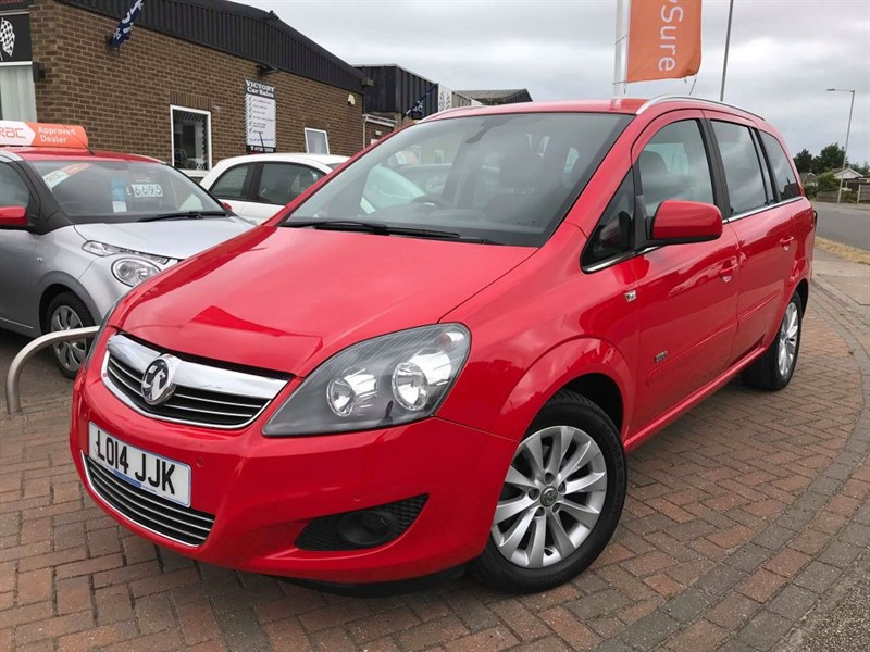 used Vauxhall Zafira DESIGN in leiston-suffolk