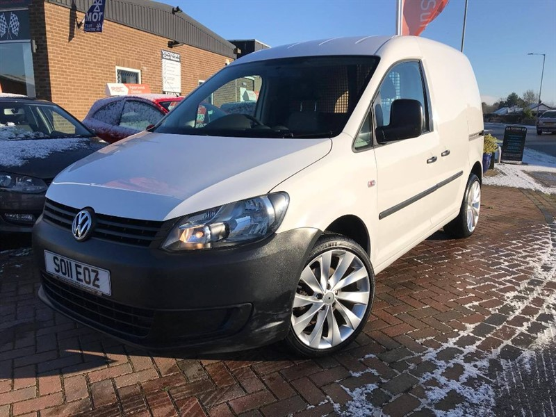 used VW Caddy C20 TDI 102 in leiston-suffolk