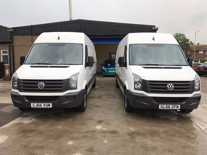 used VW Crafter CR35 TDI H/R P/V *AVAILABLE TO ORDER TODAY FROM £16995+VAT* in leiston-suffolk