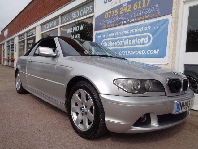 used BMW 320 CI SE in anwick