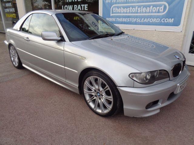 used BMW 330 CI M SPORT Convertible/Hard Top in anwick